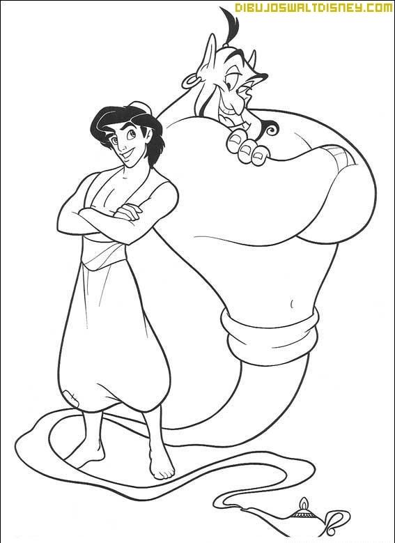 Aladdín y Genio