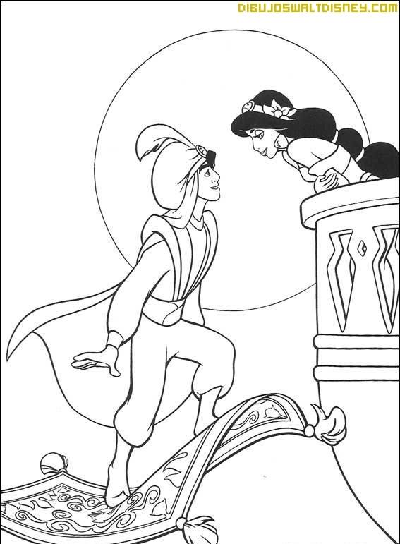 Aladdín y Jasmine