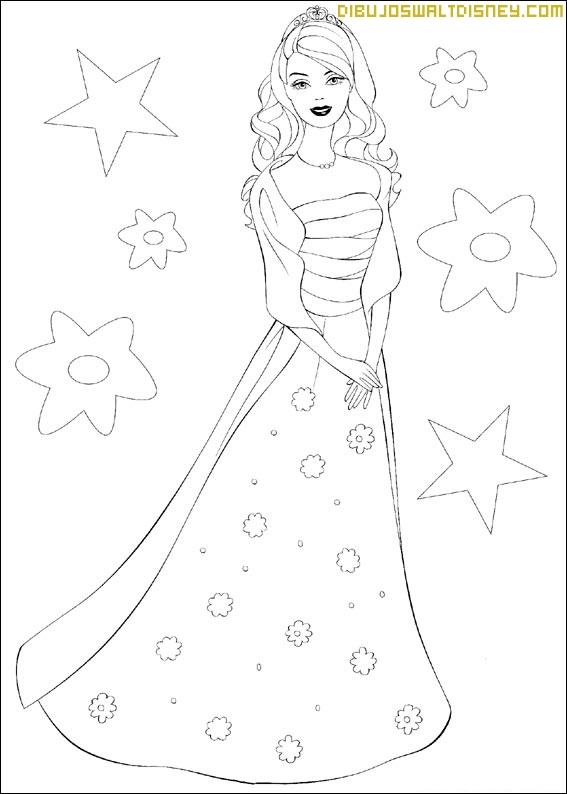 Juegos para colorear vestidos de barbie – Vestidos de noche de moda ...