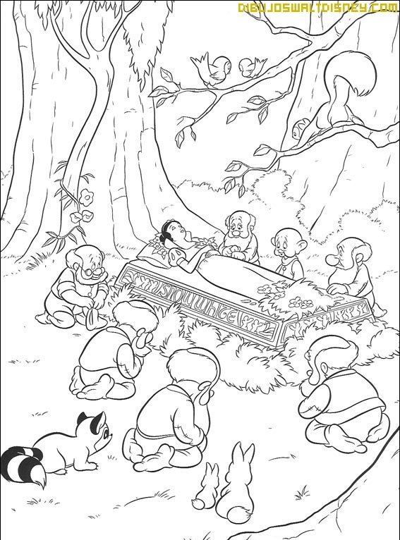 Dibujos de Blancanieves