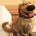 El perro hablador Dug