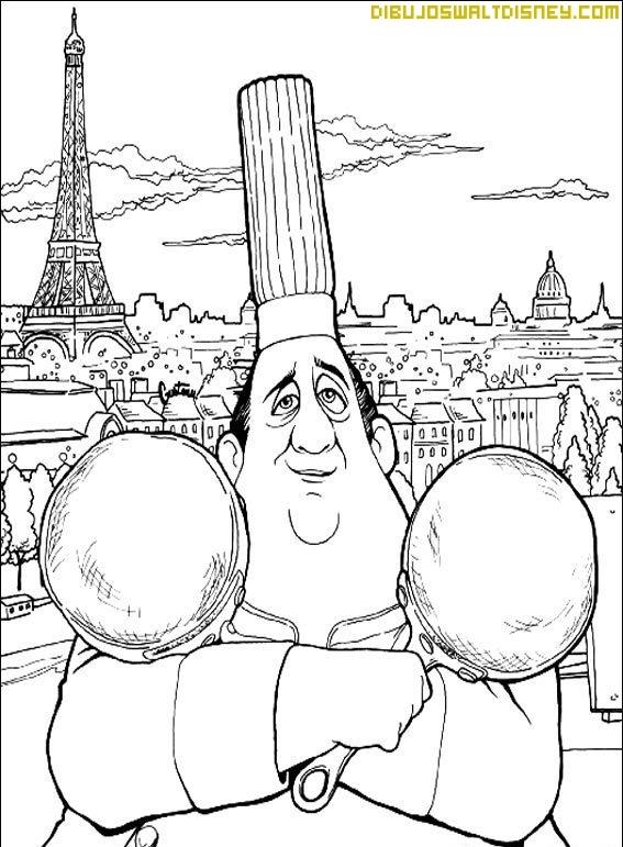 El chef Gusteau