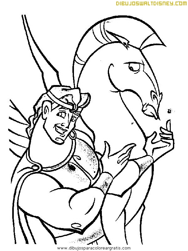 Hércules y Pegaso