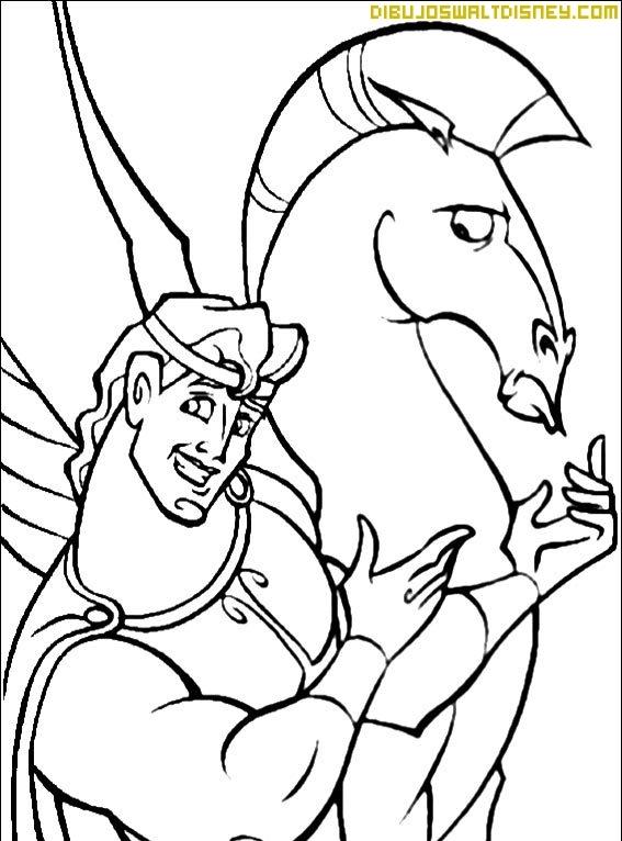 Hércules y su amigo Pegaso