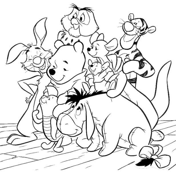 Winnie, Piglet, Tiger y sus amigos