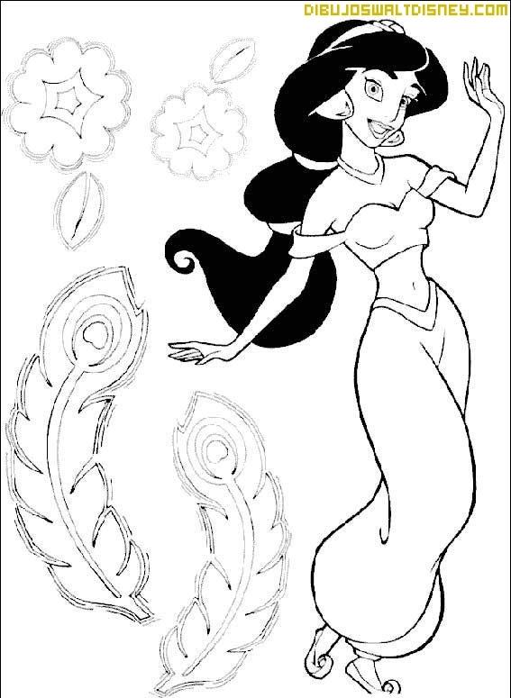 Jasmine por el jardín de Palacio
