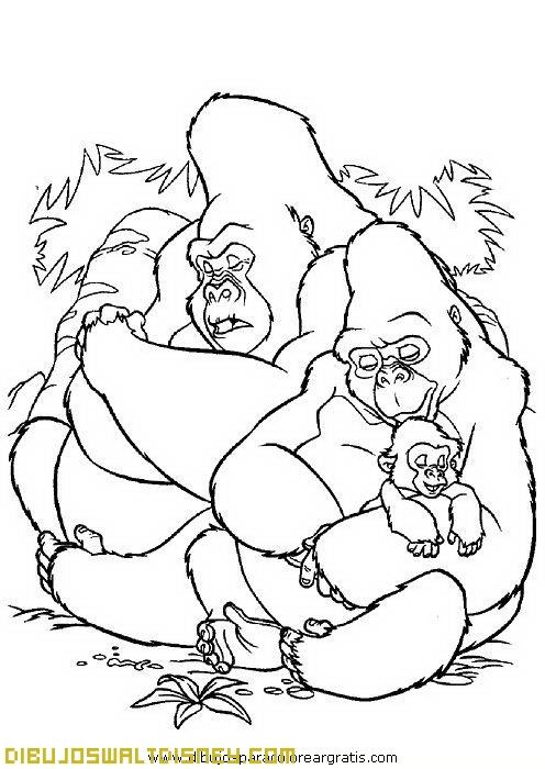 Los amigos gorilas de Tarzán