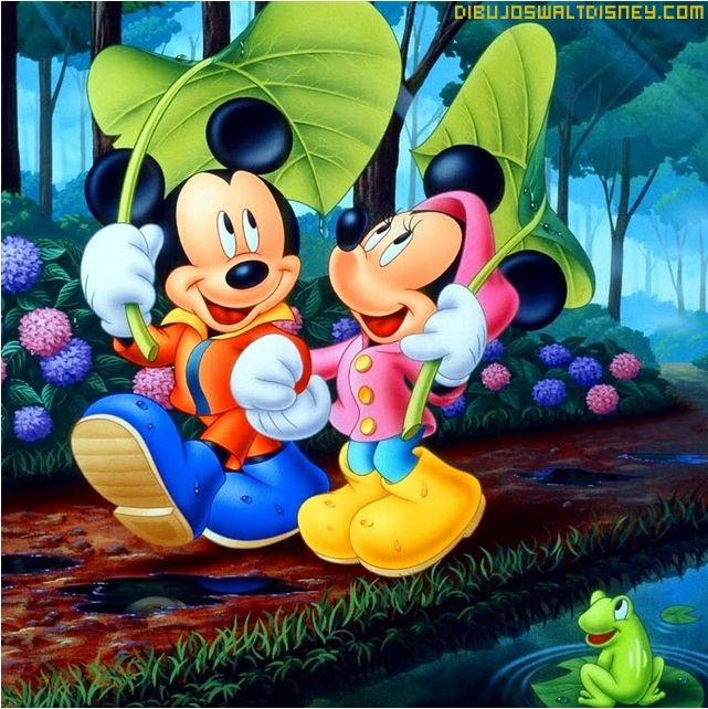 Fondo de Mikey y Minnie