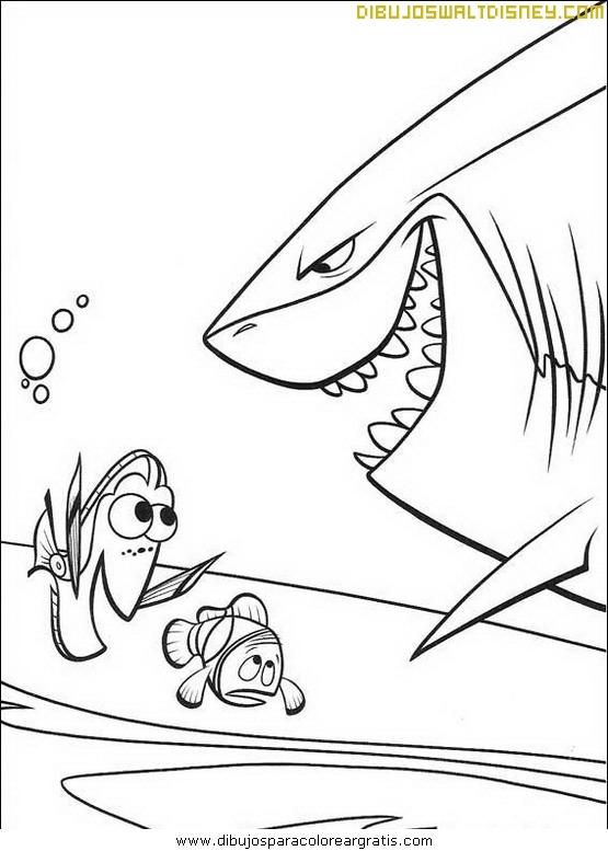 Nemo y el tiburón
