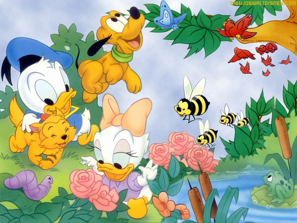 Asombroso Pato De Daisy Baby Para Colorear Patrón - Dibujos Para ...
