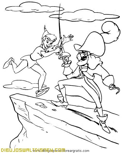 Peter Pan y el Capitán Garfio