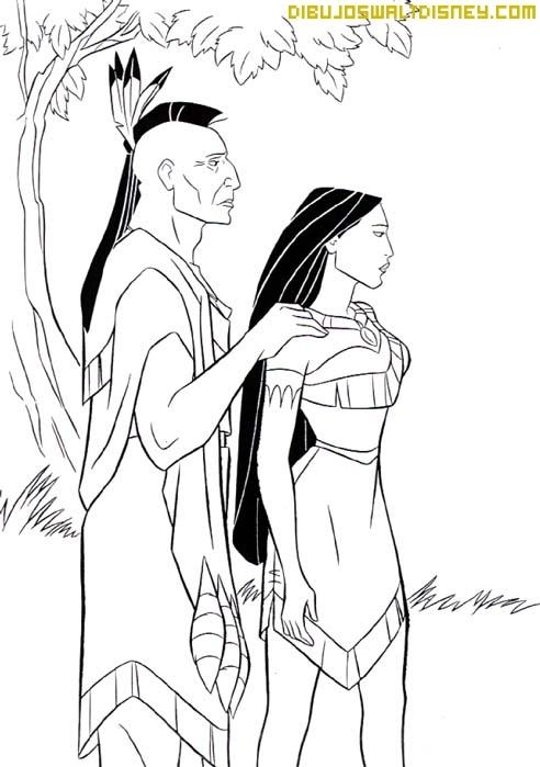 Pocahontas decide ir tras de su verdadero amor