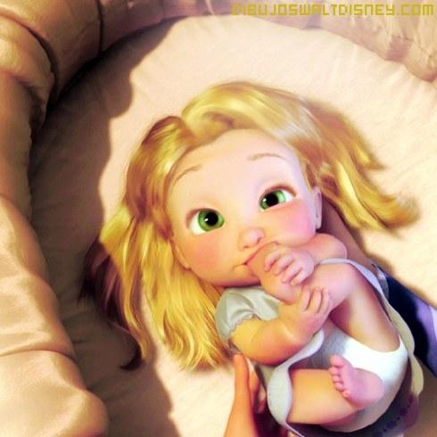 Rapunzel beb - Bebe raiponce ...