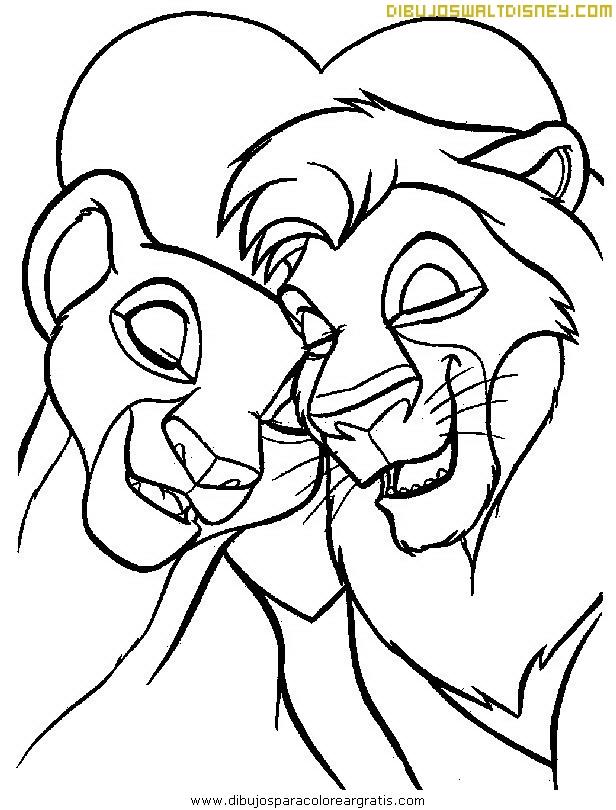 Rey León y Simba