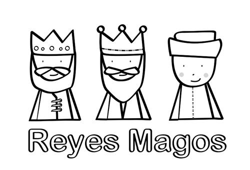 Tres Reyes Magos de chocolate