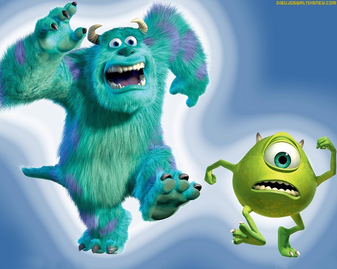 Monsters Inc en tu escitorio