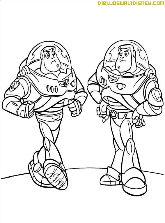 Buzz Lightyear tiene un doble
