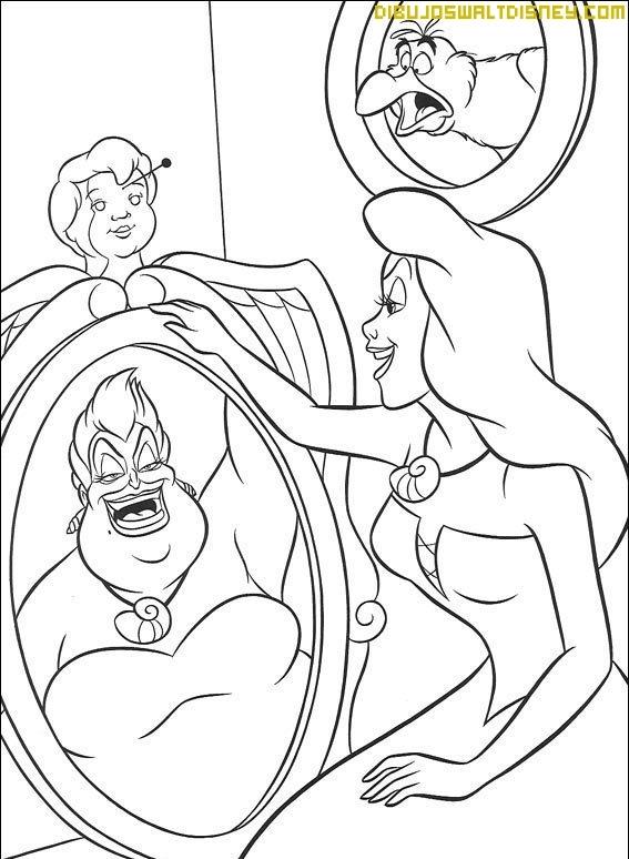 Úrsula, la villana de la Sirenita