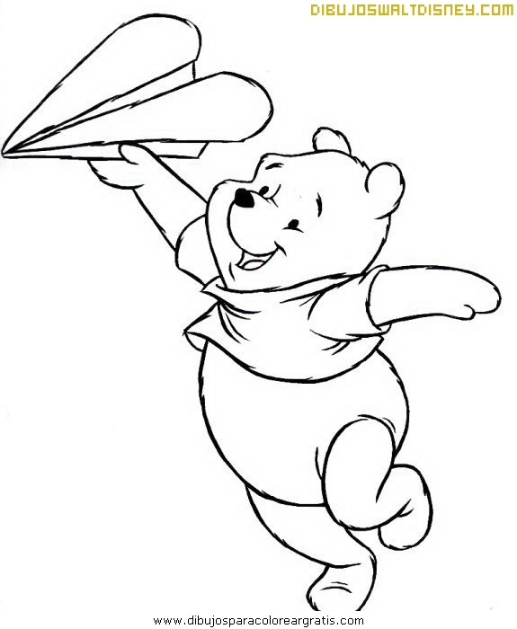 Winnie The Pooh y su avión de papel