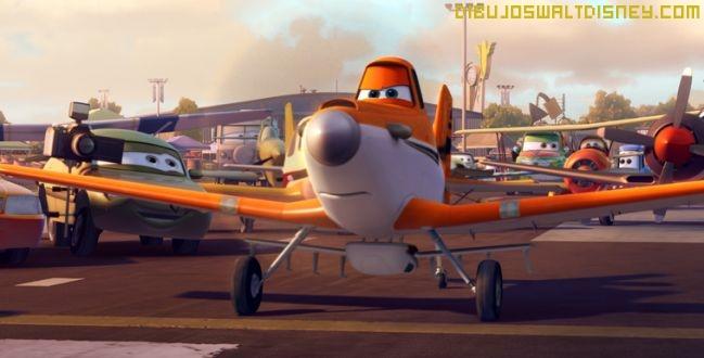 Los aviones en la pista