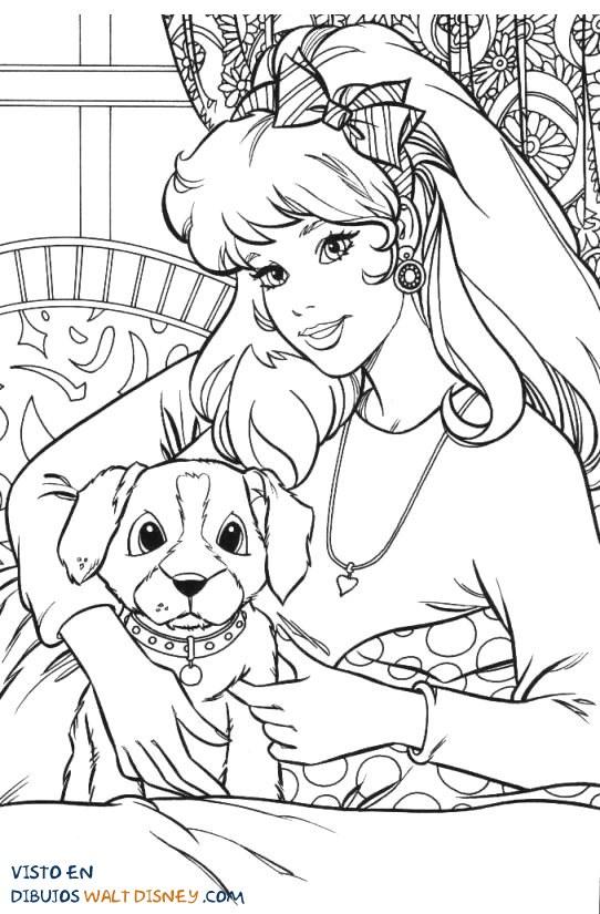 Barbie con su mejor amigo