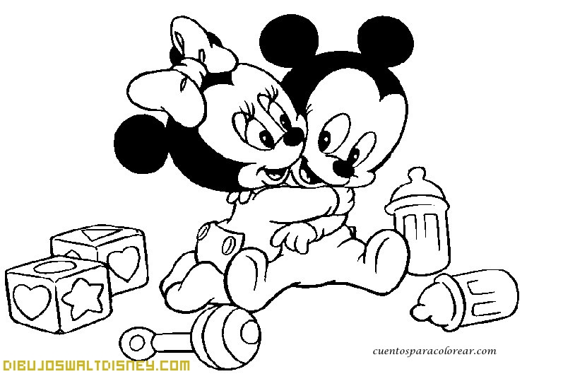 Dibujos De Bebes Disney Para Imprimir: Bebés Disney