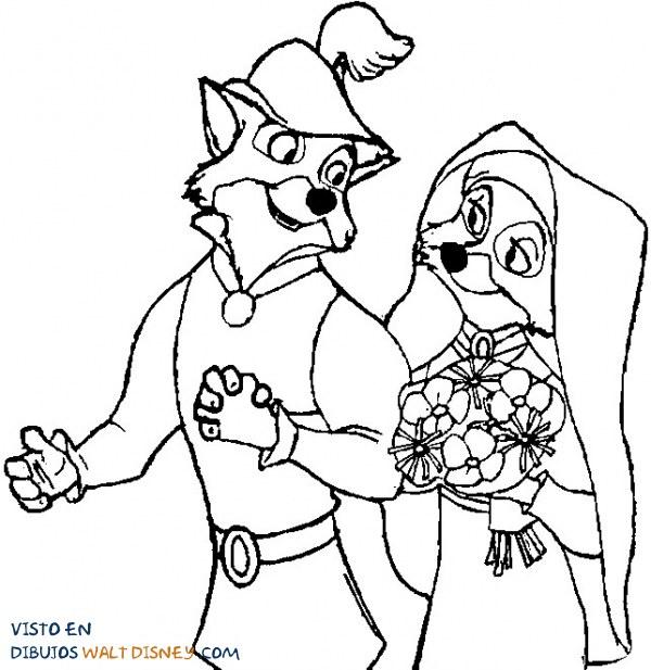 Boda Robin Hood y Lady Marian
