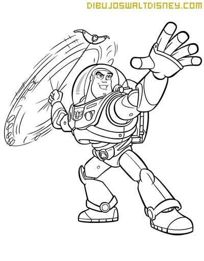 Buzz Lightyear para Colorear