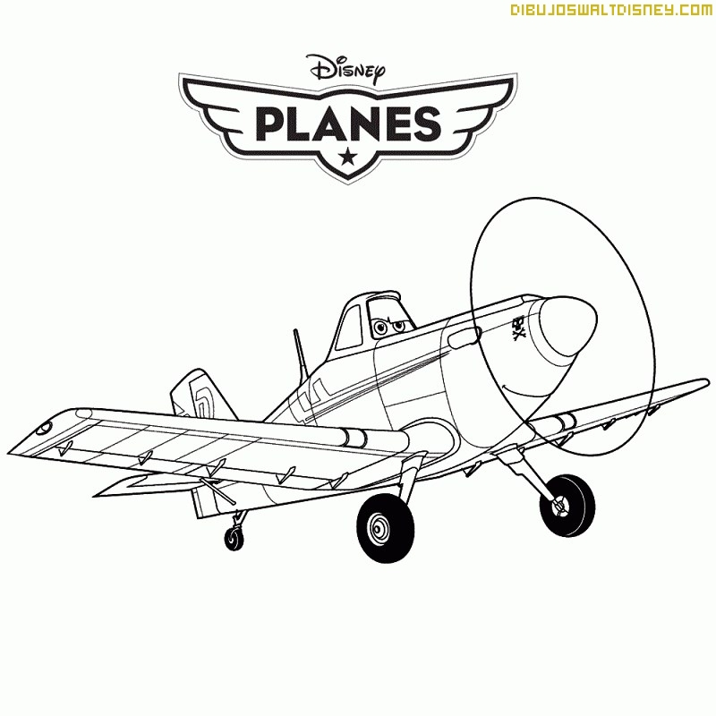 Disney Planes Coloring Pages : Free coloring pages of dusty crophopper