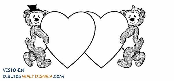 Dos corazones y dos osos