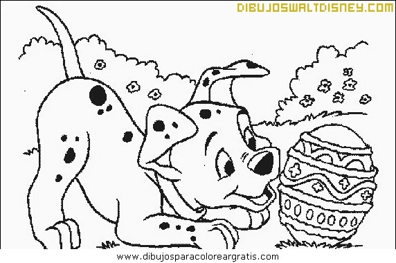 Perrito Dalmata con el joyero