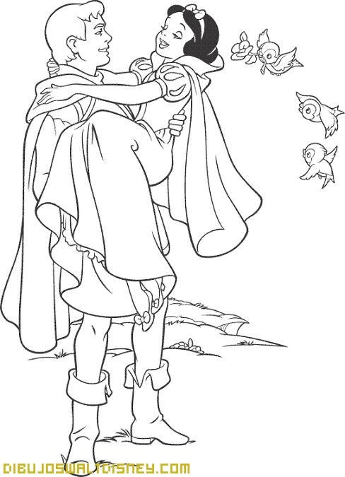 Blancanieves y su principe azul