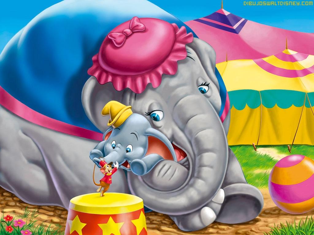 Dumbo y su mama