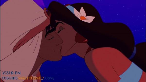 El beso de Aladdín