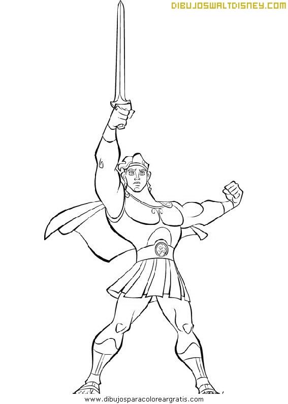 Hercules con su espada