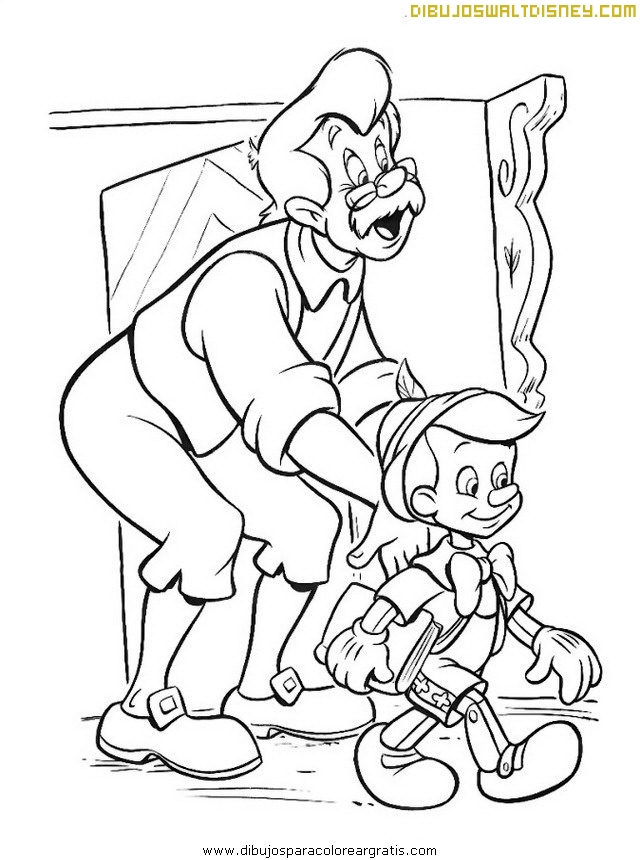 Pinocho va a la escuela