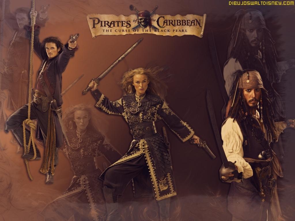 Protagonistas Piratas del Caribe