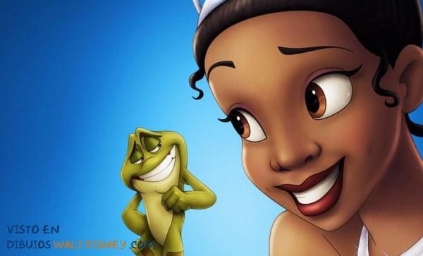 Princesa Tiana y el sapo