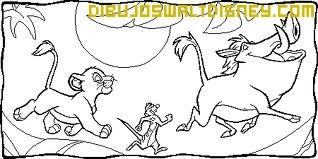 Pumba, Simba y Timón