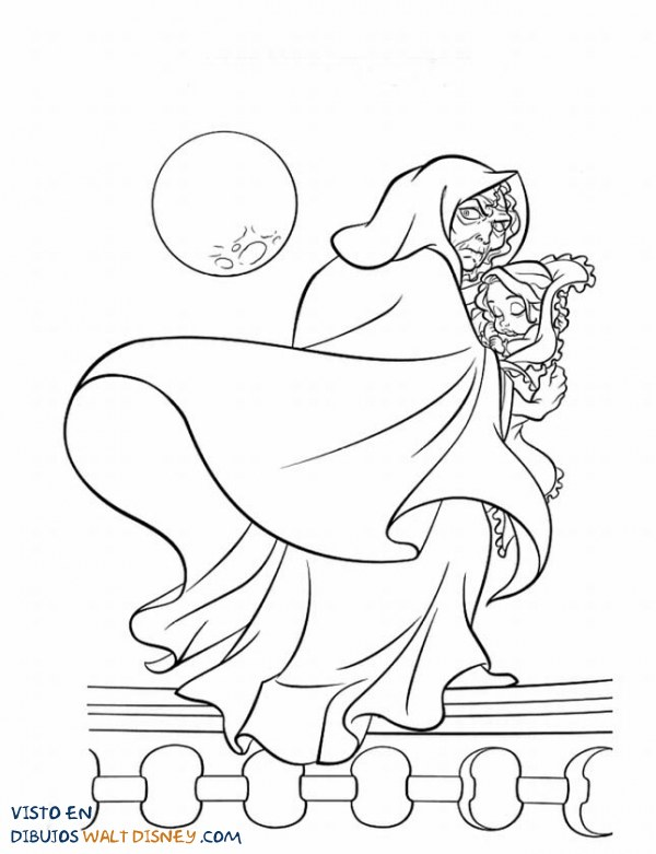 El rapto de Rapunzel