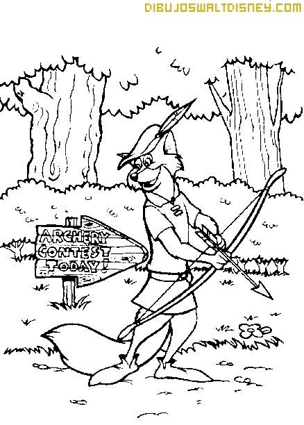 Robin Hood va al concurso de tiro con arco