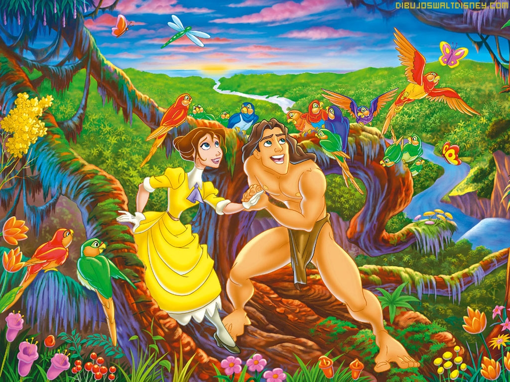 tarzan y jane porter. Black Bedroom Furniture Sets. Home Design Ideas
