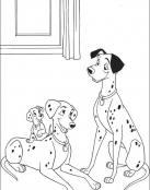 Perdita y Pongo son felices con sus cachorros