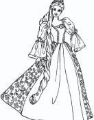 Barbie vestida de reina