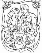 Blancanieves, su Principe y los Enanitos