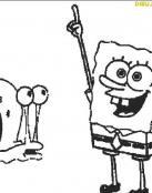 Bob Esponja y Gary