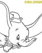 Colorea a Dumbo