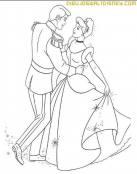 Cenicienta en su baile mágico