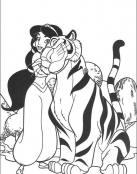Jasmine y su gran gatito