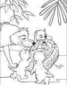 Mowgli y su nueva familia